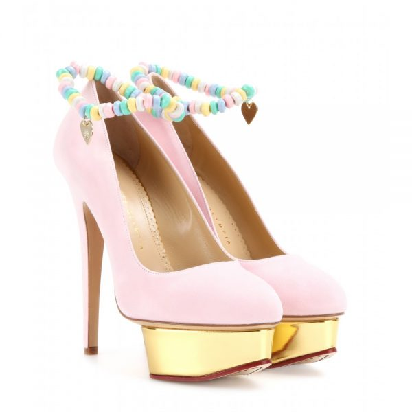 Sweet-Dolly-suede-platform-pumps