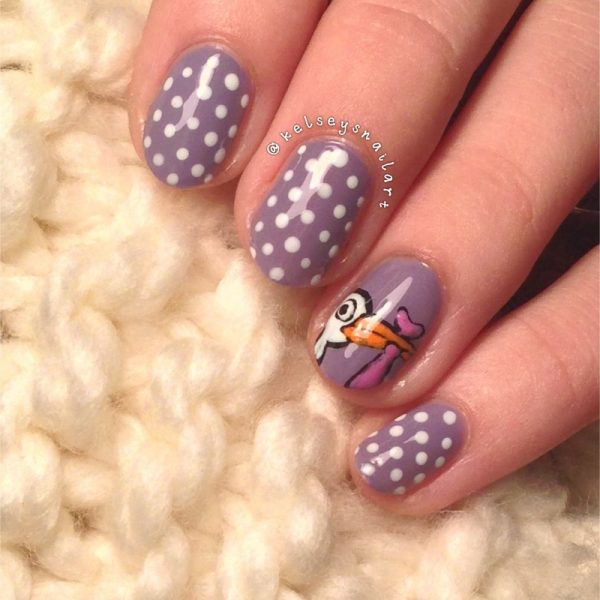 baby shower nail art bmodish dot com