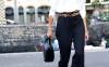 black palazzo pants casual business bmodish