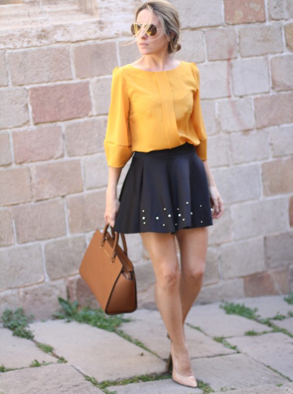 blouse and skirt bmodish