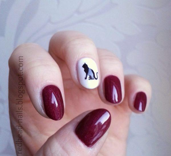 cat tribute nail art bmodish dot com