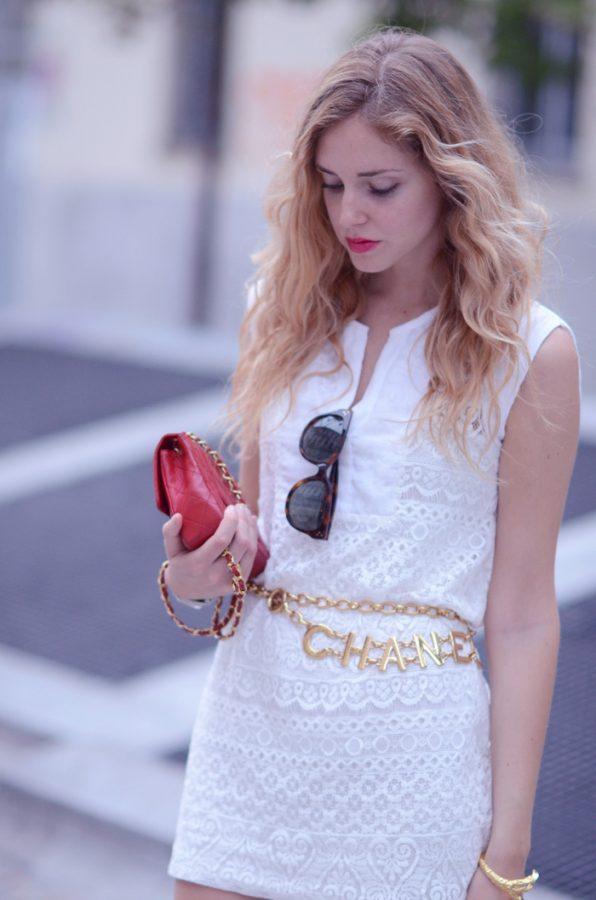 sexy white summer lace dress