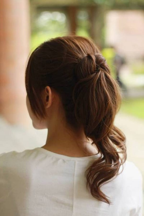 curly-cute-ponytail-hairstyles bmodish