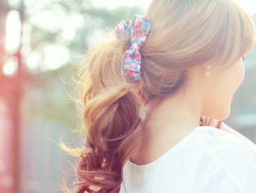 cute ponytail bmodish
