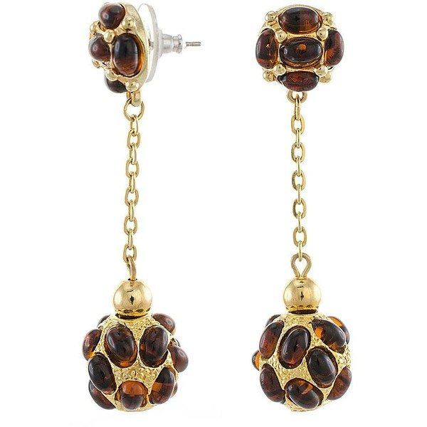 drop tortoise earrings bmodish