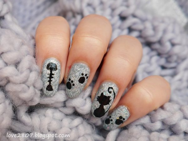 furry cat nail art bmodish dot com