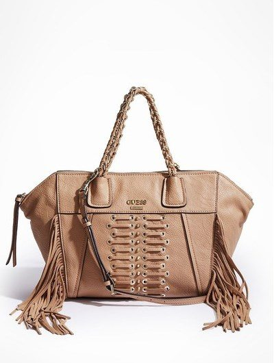 guess fringe bag