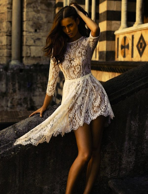 cute summer lace dress