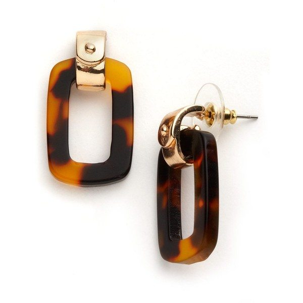 lauren ralph tortoise earrings bmodish