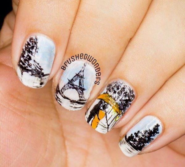 love paris nail art