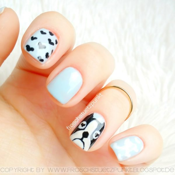 marc jacobs nails dog design nail art bmodish dot com