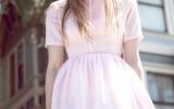pink dress pinterest