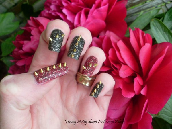 rock stud nail art bmodish dot com