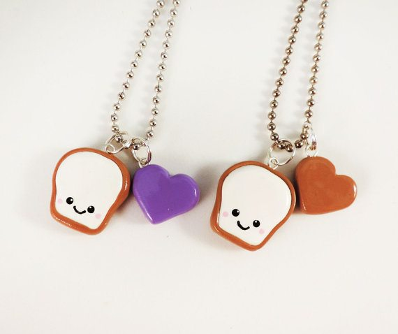 smiling peanut necklaces bmodish