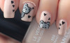 teddy bar nail art bmodish dot com