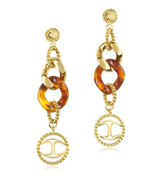 tory burch tortoise earrings bmodish