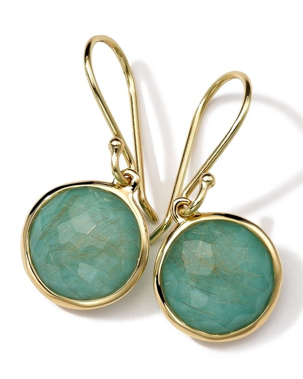 turquoise rutilated jewelry