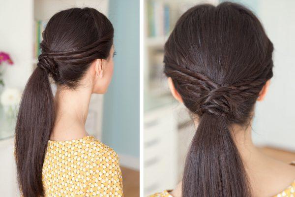 twisted ponytail bmodish