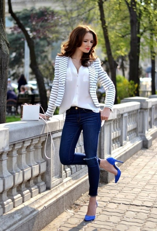 zara-dark-blue-jeans business casual bmodish