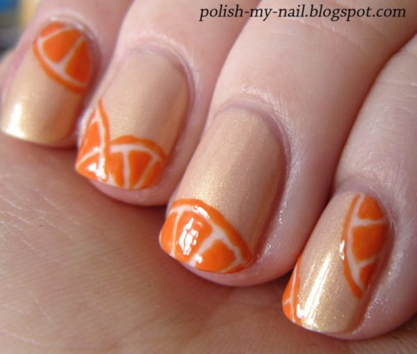 Avon_Sweet_Pea_Dream_orange_nail_art_bmodish