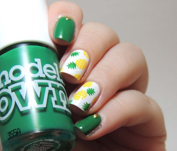 Pineapple_nails bmodish