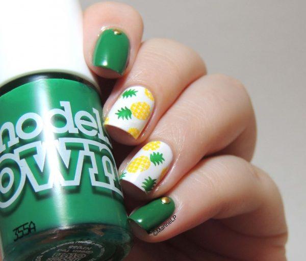 Pineapple_nails bmodish