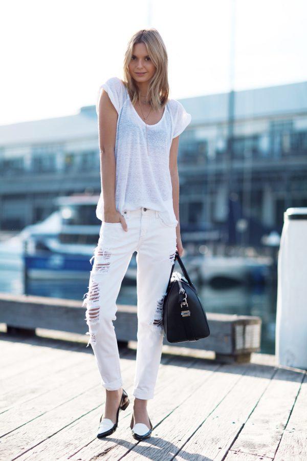 all white bmodish