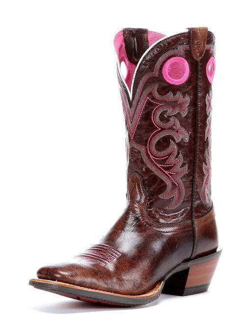 ariat crossfire boots pink bmodish