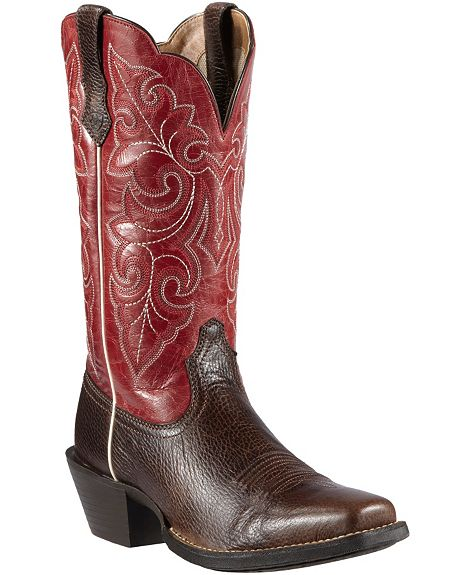 ariat roundup cowgirl boots bmodish