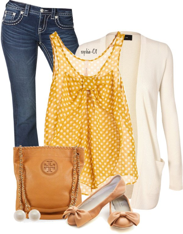 bow tank top casual outfit bmodish