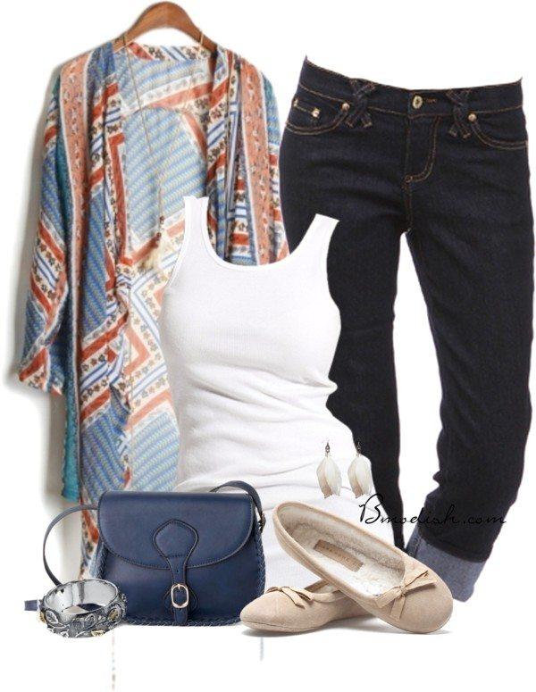 casual boho polyvore outfit idea bmodish