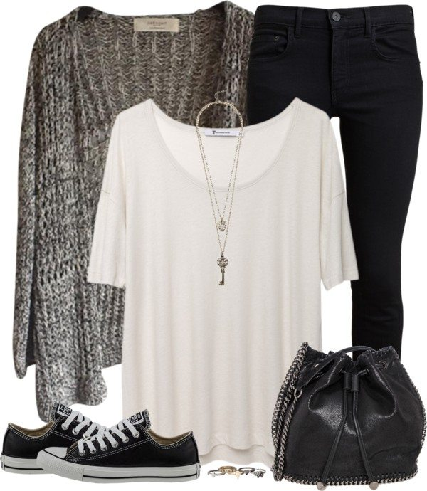 casual outfit for teenage bmodish