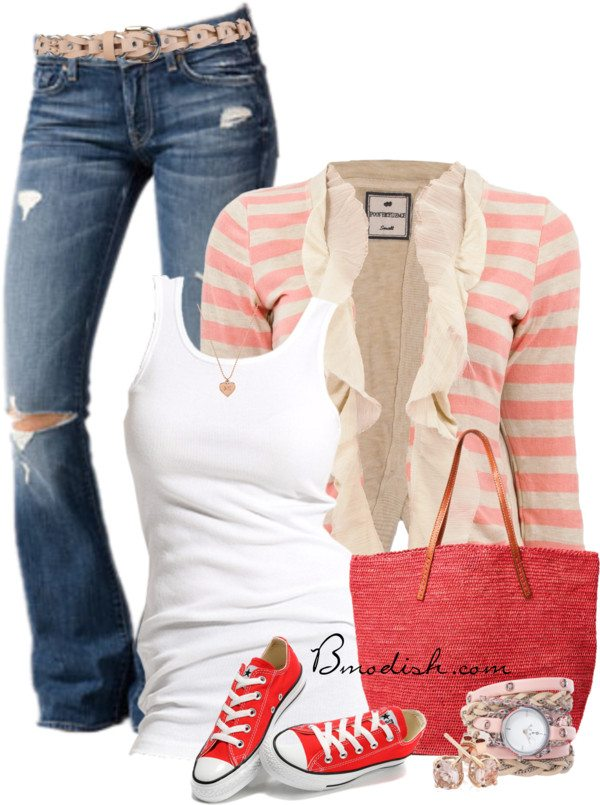 casual outfit with sneakers bmodish