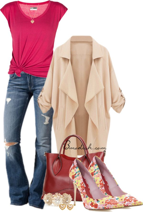 casual polyvore outfit 2 bmodish