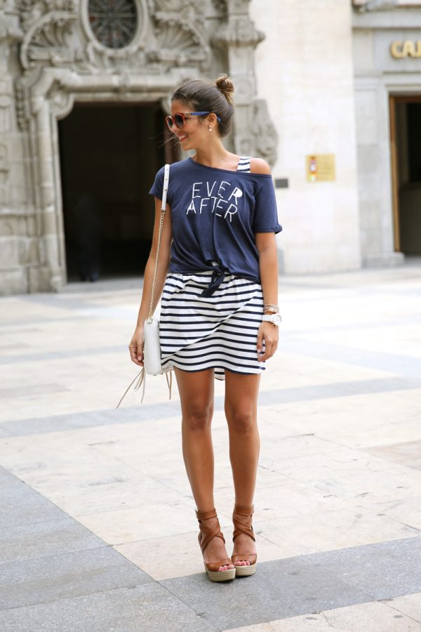 casual stripe bmodish