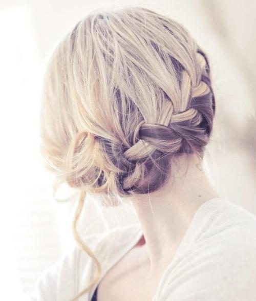 cute braid prom hair bmodish