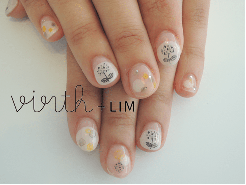 cute flower nails bmodish