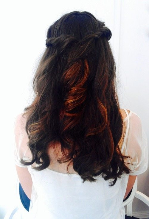easy prom hairstyle bmodish