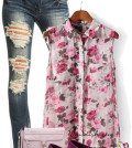 floral blouse summer outfit bmodish