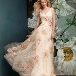 floral wedding dress bmodish