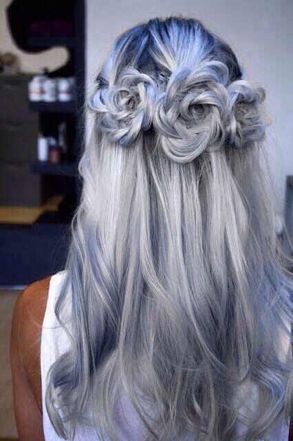 flower braided hair bmodish