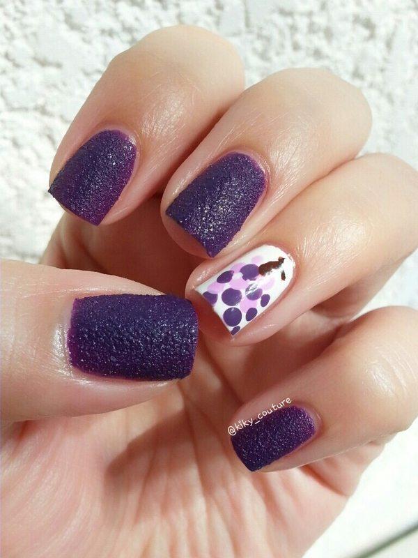 grape fruit nail art bmodish