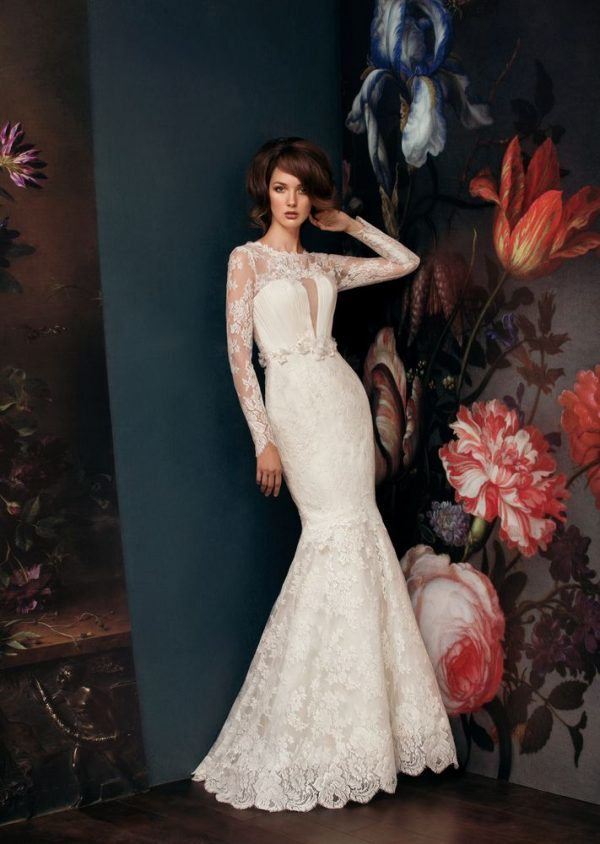 lace mermaid wedding dress bmodish