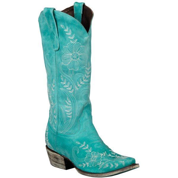 lane turquoise cowgirl boot bmodish