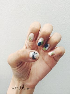 minimalis japanese nail design bmodish