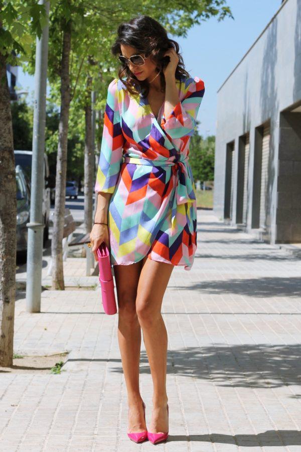 multicolor louboutin imperial dress bmodish
