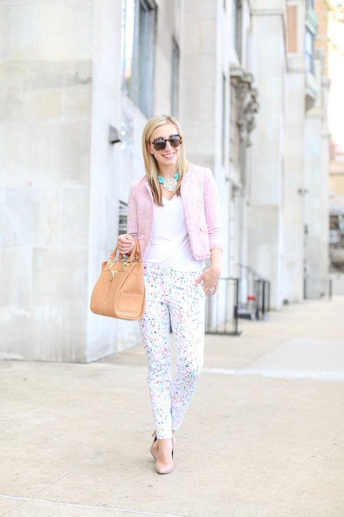 multicolor pant outfit bmodish