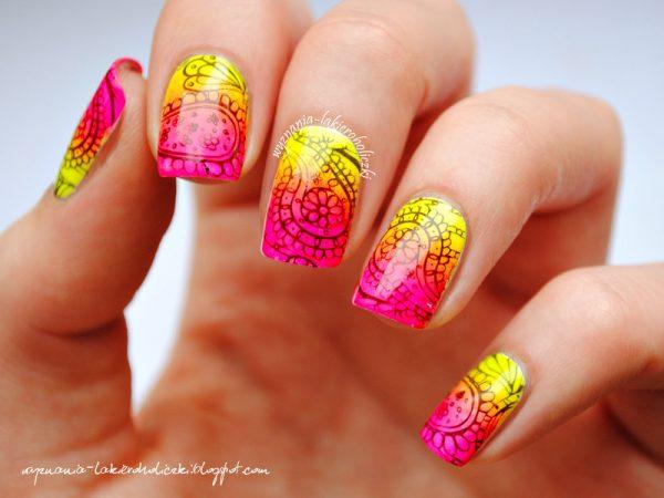 neon_paisley_nails_2 bmodish