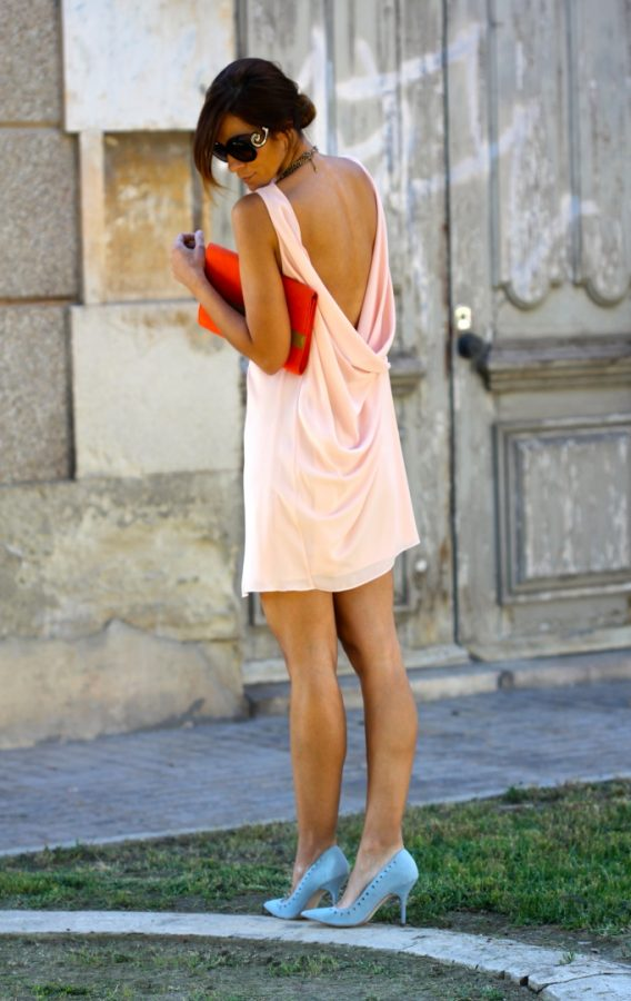 open back summer dress bmodish