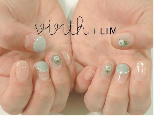 plant green nail art bmodish